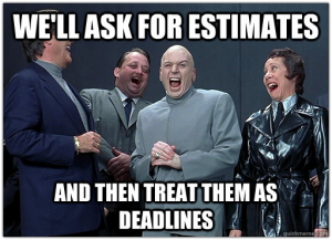 Asking for estimates